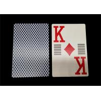 Buy cheap Normal Type Waterproof Pure Plastic Poker Cards High End for Casino product