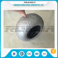 Buy cheap 9 Inch Pneumatic Rubber Wheels PP Rim , Balloon Hand Truck WheelsWithout Bearing product