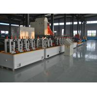 Buy cheap Fully Automatical Precision Erw Tube Mill , High Speed MS Pipe Making Machinery product