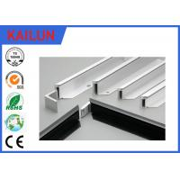 Buy cheap 6063 T5 Aluminum Solar Panel Frame for PV Solar Panel Frame Mounting System product