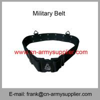 Wholesale Cheap China Military PP Webbing Police Belt With Army Logo