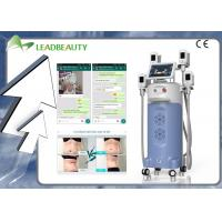 China Non - Surgical Advanced 4 Handles Leadbeauty Cryolipolysis Body Slimming Machine wholesale