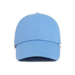 Buy cheap OEM Blue Color None Logo Cotton Fabric Baseball Cap product