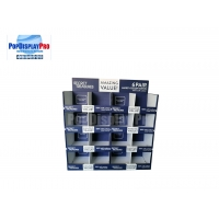 """Buy cheap Promotional Temporary Cardboard Paper Half Size Pallet Display 48"""" Wide For Ladies' Panties product"""