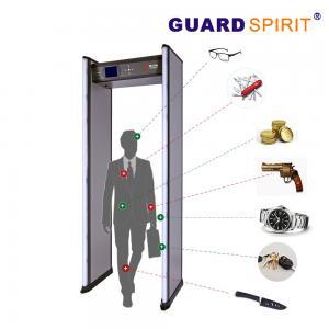 Buy cheap 2 Columns Led Guard Spirit Metal Detector Security 18 Detecting Zones product