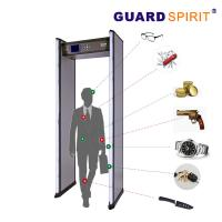 Buy cheap 2 Columns Led Guard Spirit Metal Detector Security 18 Detecting Zones product