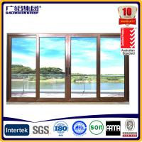 Buy cheap aluminium frame sliding glass doors product