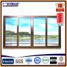 Buy cheap portes en verre de glissement en aluminium de cadre from wholesalers