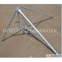 Buy cheap Flexible Concrete Forming Accessories Folding Tripod Stabilizing Steel Props product