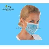 China Disposable Surgical Products Medical Face Masks Ear - Loop / Tie - On on sale