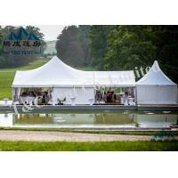 Clear Pagoda Wedding Event Tents Easy Assembled With Strong Galvanized Steel