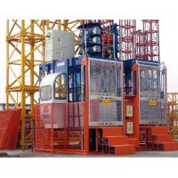 Buy cheap 4T Construction Hoist Elevator with Single / Twin Cage , Building Lifting Machine product