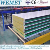 Buy cheap New Type glass wool fire proof insulated wall panel for steel warehouse product
