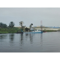 Buy cheap Geologic 25m Digging Gold River Dredger For Reclamation Works product