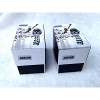 Buy cheap Cardboard Packing Gift Boxes For Watch , Cardboard Storage Boxes Black And White Color product