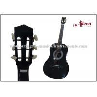 Buy cheap 38'' Linden Plywood Top Classical Acoustic Guitar With 4 Band EQ product