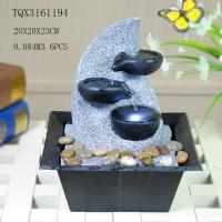 Buy cheap Fashionable Design Polyresin Water Fountain Handmade For Shop Decoration product