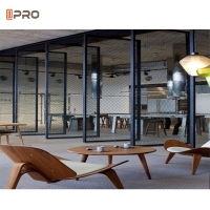 Buy cheap Swing Open Aluminum Pivot Glass Door 360 Degrees European Style product