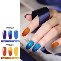Buy cheap Amazing color changing effect glitter pearl color pigment holographic dip powder nails product