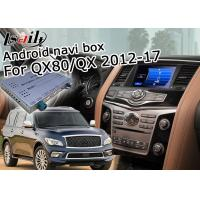 Buy cheap Infiniti QX80 / QX Android Auto Interface , Android Car Audio Interface With Mirror Link product
