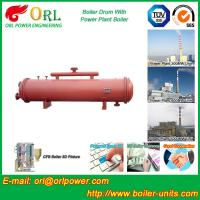 Buy cheap Boiler Parts Coal Fired Boiler Steam Drum Corrosion Resistance For Industrial product