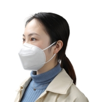 Buy cheap Anti Pollution BFE 95% Dustproof KN95 Face Mask product