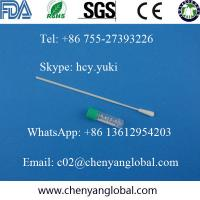 Buy cheap Oral saliva flocked tip sampling swab for DNA test images product