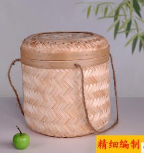 2016 Hot sale Bamboo Tea Packing Basket, Bamboo storage basket, fruit basket