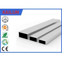 Buy cheap Square Hollow Aluminium Frame Profile for Sliding Door / Windows Base Material product
