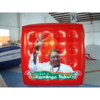 Buy cheap Durable Attractive Red Political Advertising Balloon, Cube Balloons for Trade show product