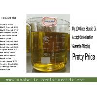 Buy cheap Light Yellow Liquid Blend oils Anomass 400mg Testosterone Enanthate , BU , Tren E product