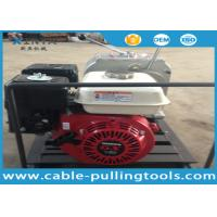 China 3 Ton Honda Gas Engine Powered Cable Pulling Winch Cable Winch Puller wholesale