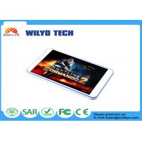 Buy cheap White Android Tablet 8 Inch MT6582 1280x800P 5mp Camera 16GB Rom product