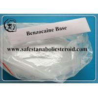 Quality Topical Pain Relief Powder Raw Benzocaine Base / Benzocaine CAS 94-09-7 for sale