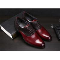 Buy cheap Color Blocking Classic Dress Shoes Fashion Upper With Leather And Suede Sewing Together product