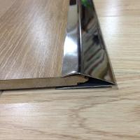 Buy cheap stainless steel metal floor strip trim edges brushed finish tile trim product