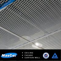 Buy cheap Aluminum Grid metal ceiling and Alumium open ceiling design for Shop product