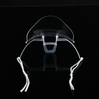 Buy cheap Slipping Resistant Transparent Plastic Face Mask For SPA product