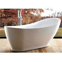5 Foot Ultra Acrylic Free Standing Bathtub Antique Style 1800 X 850 X 790MM