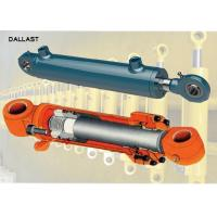 Buy cheap Polished Chrome Piston Rod Telescopic Hydraulic Cylinder Tempered Tube CE Approval from wholesalers