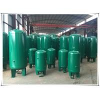 Buy cheap Stable Pressure Air Compressor Receiver Tank , Air Compressor Vertical Storage Tank product