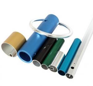 Buy cheap Powder Coated Anodized Aluminum Extruded Tubing / Aluminum Round Tubing With CNC Machining product