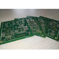Buy cheap 4 layers Multilayer PCB Board ENIG with green soldmask white silkscreen product