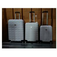 Expandable Carry On ABS Trolley Luggage Bags Zipper Framed For Travelling