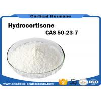 Buy cheap White Powder Pharmaceutical Raw Materials 99% Purity Hydrocortisone CAS 50-23-7 product