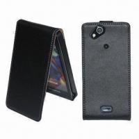 Buy cheap Leather Flip Cases for Sony Ericsson Xperia Arc, Stylish, Form Fitting and Durable product