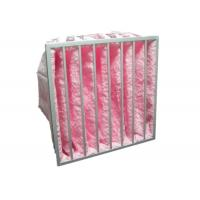 Buy cheap Reusable Multi Pocket Air Conditioning Ventilation Air Filter Synthetic Fiber Glass Fiber product