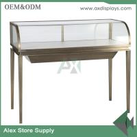 China luxury jewellery display counter glass showcase classical design store jewelry counter on sale