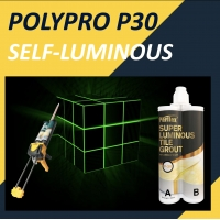 Buy cheap P-30 Luminous Ceramic Tile Grout Mildew Resistance For Home, Illuminate In The Dark product