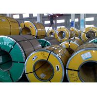Buy cheap Thickness 0.3 - 3.0mm Steel Strip Coil , 400 Series Stainless Steel Sheet Metal Coil product